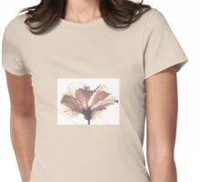 High Key Hibiscus Womens Fitted T-Shirt
