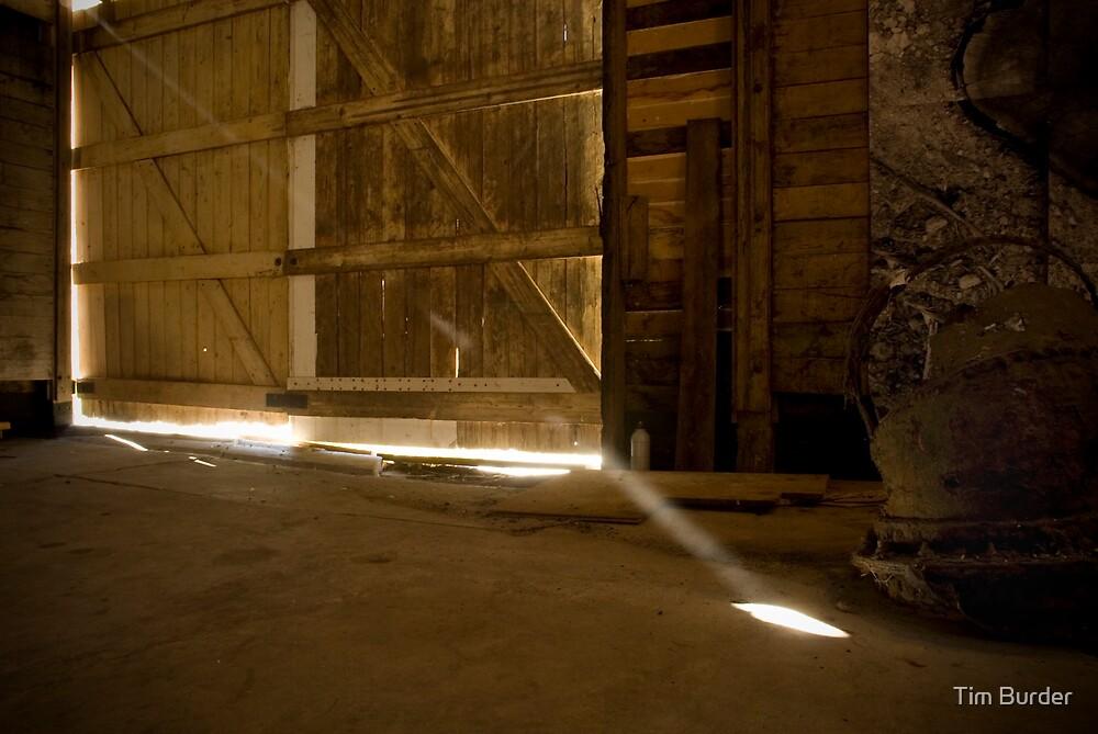 Dusty Shed by Tim Burder