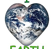 I Heart Earth by Gravityx9