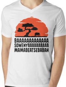 BAAAAAAAAAAAAA SOWENYAAAAAAAAAA MAMABEATSEBABAH T Shirt Mens V-Neck T-Shirt