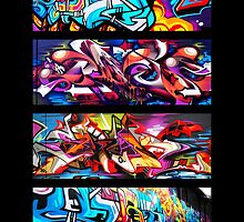 Graffitee'd (Black) by ClemDeez