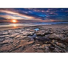Port Noarlunga Sunset Photographic Print