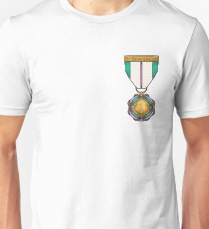 Medal 'Got out of bed' Unisex T-Shirt