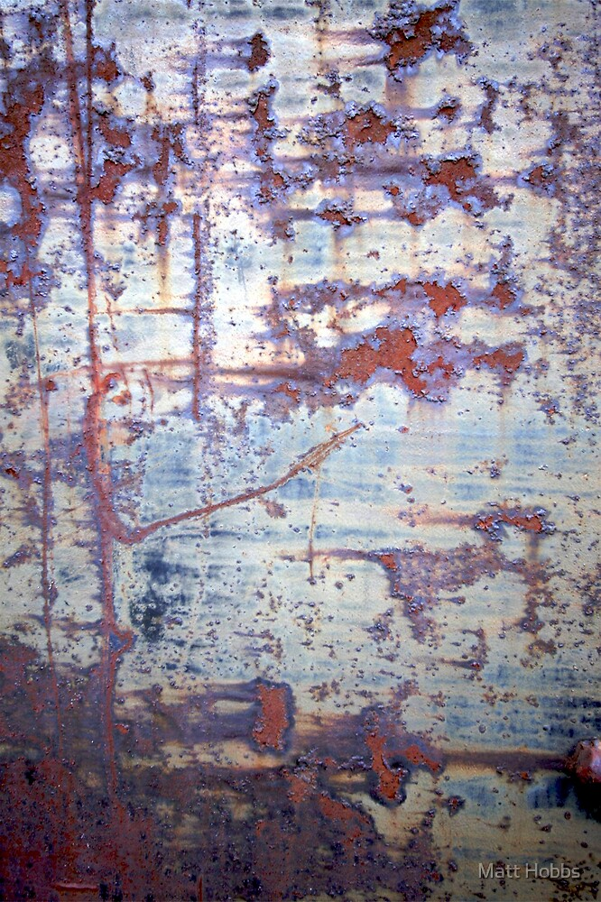 art painting rustic rusty old worn abstract beautiful beauty  by Matt Hobbs