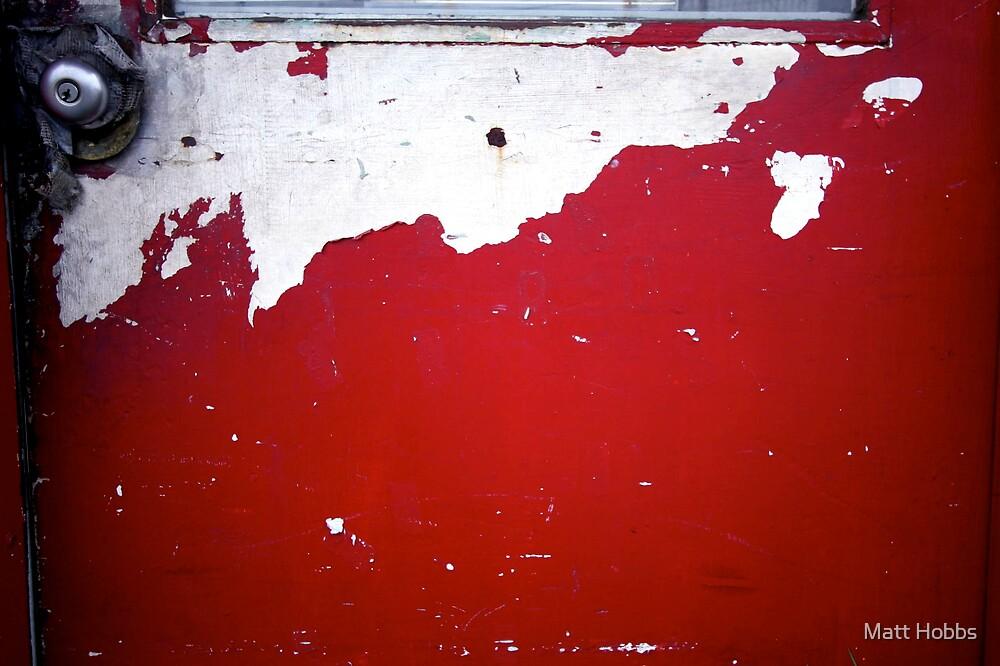 Red Door by Matt Hobbs