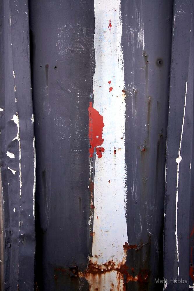White Stripe by Matt Hobbs
