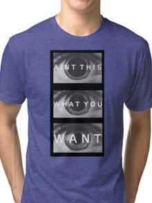 ATWYW - Head/Eye Liner Tri-blend T-Shirt
