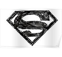 Superman Sketch Poster