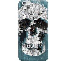 The Blue Skull of Baker Street iPhone Case/Skin