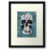The Blue Skull of Baker Street Framed Print