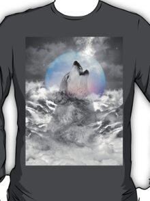 Maybe the Wolf Is In Love with the Moon T-Shirt