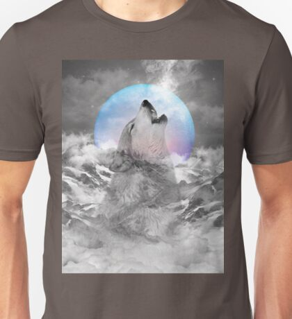Maybe the Wolf Is In Love with the Moon Unisex T-Shirt
