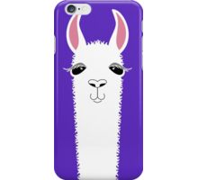 LLAMA PORTRAIT #6 iPhone Case/Skin