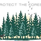 protect the forest by lykos1988