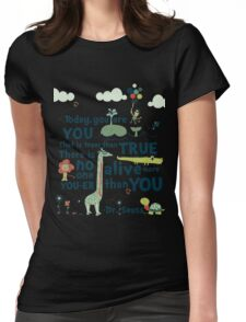 Dr. Seuss Day Womens Fitted T-Shirt