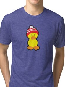Peter the Duck Tri-blend T-Shirt