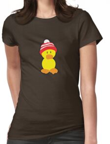 Peter the Duck Womens Fitted T-Shirt