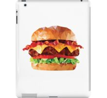 Geometric Bacon Cheeseburger iPad Case/Skin