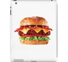 Geometric Bacon Cheeseburger iPad Case/Skin