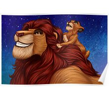 Lion King: Whenever You Feel Alone... Poster