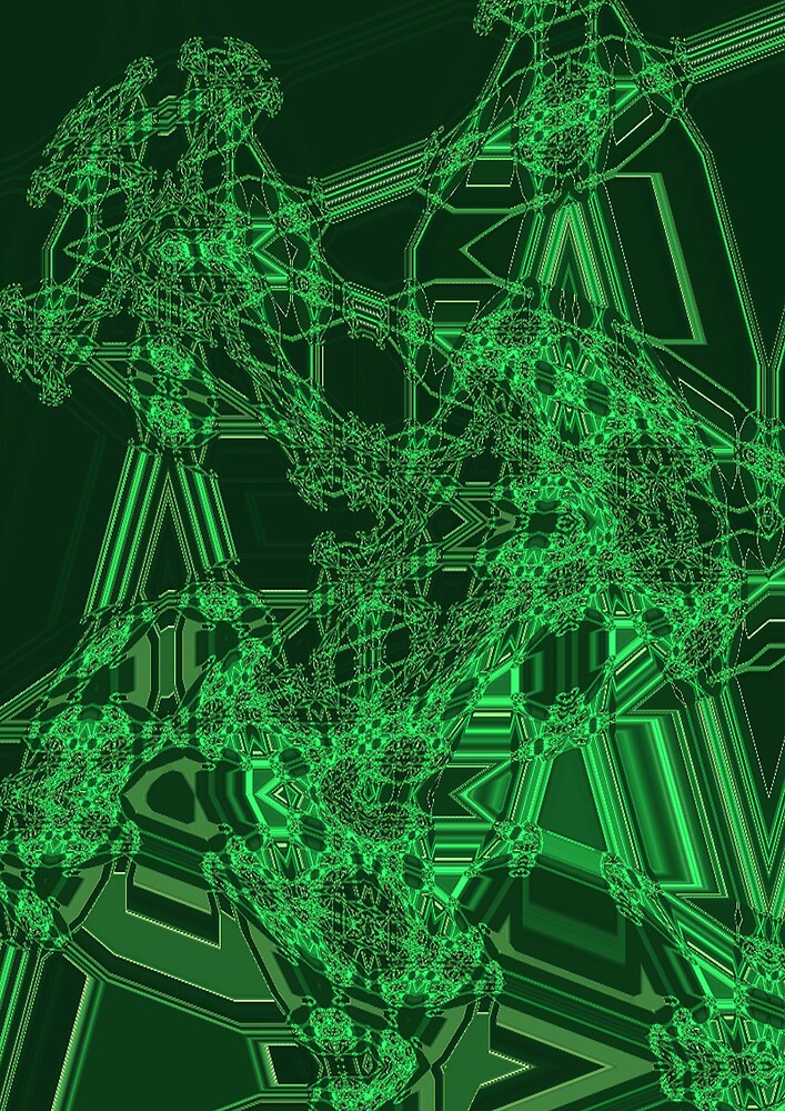 Green Structure by Glenys