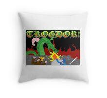 Trogdor the Burninator Throw Pillow