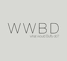 What Would Buffy Do? by mockbird