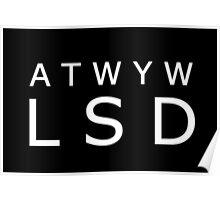ATWYW - Headliner Invert Poster