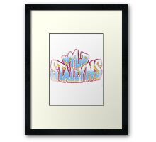 Bill and Ted Wild Stallions T-shirt Framed Print