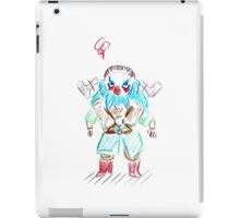 Blue Dwalin iPad Case/Skin