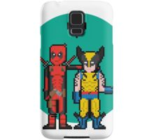 Deadpool Heart Wolverine  Samsung Galaxy Case/Skin