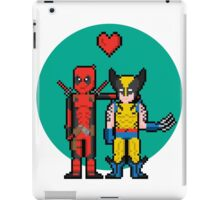Deadpool Heart Wolverine  iPad Case/Skin
