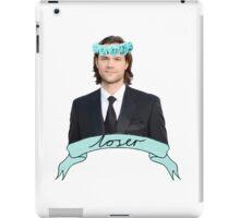 Jared padalecki gross iPad Case/Skin