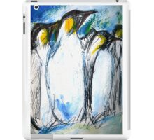 Penguins Acrylics And Ink iPad Case/Skin