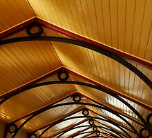Above, Queenscliff Pier Shelter Shed by Joe Mortelliti