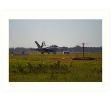 RAAF F18 Hornet Art Print