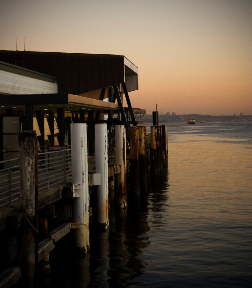Manly Wharf by Lani