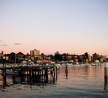 Wharf at Sunset by Lani