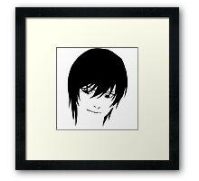 Light Yagami Framed Print