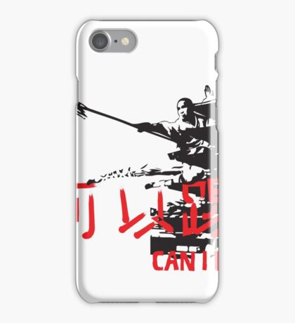CAN I KICK IT? - Basic Red iPhone Case/Skin