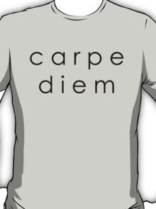 Carpe Diem (Sans Serif Black) T-Shirt
