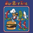 Burger Time by idaspark