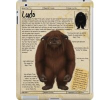 Practical Visitor's Guide to the Labyrinth - Ludo iPad Case/Skin