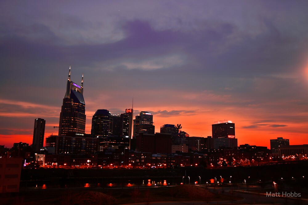 Nashville Sunset by Matt Hobbs