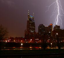 Lightning Over Nashville by Matt Hobbs