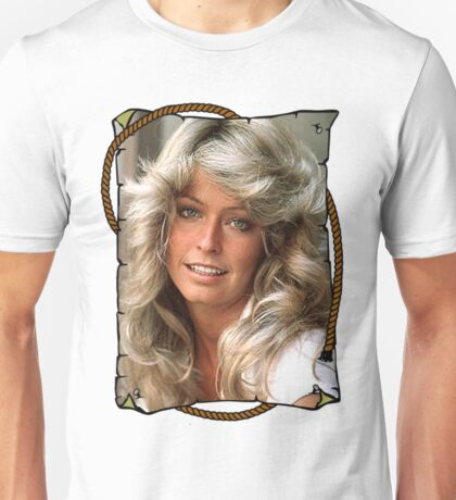 Farrah Fawcett Charlies Angels Unisex T-Shirt