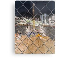 Destruction/Construction Metal Print