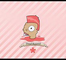 Dead Squirrel by Sebastian Mueller