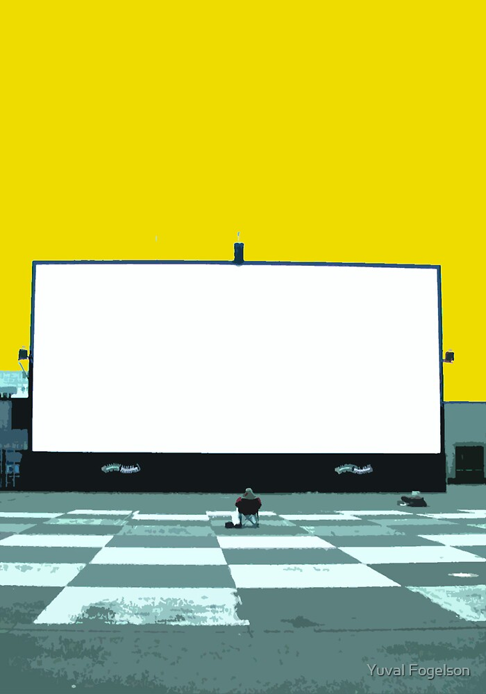 lonely screen by Yuval Fogelson