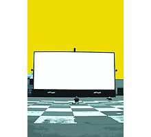 lonely screen Photographic Print